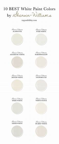 10 best white paint colors by sherwin williams tag tibby design
