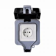 Bathroom Outlet Adapter by Confident Ip66 Waterproof Wall Outlet Wall Mounted