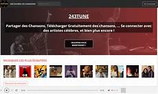 plateforme musique gratuite comment t 233 l 233 charger la musique mp3 gratuitement sur 243tune