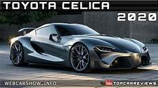 2020 toyota celica review rendered price specs release