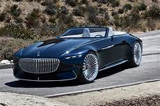 Vision Mercedes Maybach 6 Cabriolet Wows Pebble