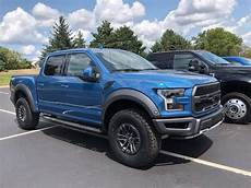 2019 ford raptor performance blue 2 photos 2019 velocity blue vs 2017 18 lightning