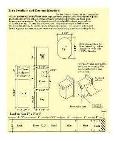 tree swallow house plans diy tree swallow houses diy pinterest tree swallow