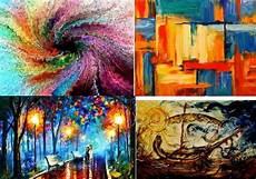 Contoh Lukisan Simple Di Kanvas Contoh Gambar Lukisan