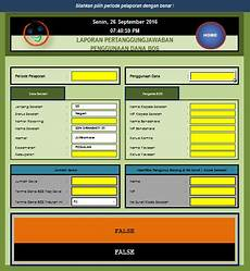 aplikasi kwitansi dan bap barang laporan bos format microsoft excel belajar mengajar