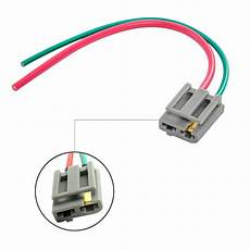 gm wire harness connectors best dual pigtail wire harness connector gm hei coil in cap distributor 170072 ebay