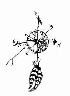 des vents dessin points cardinaux plumes baby boy tattoos et