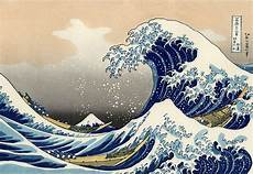 Japanisches Bild Welle - file great wave kanagawa reversed png