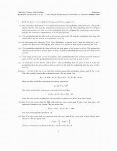 probability sentences worksheets 5887 50 simple probability worksheet pdf chessmuseum template library