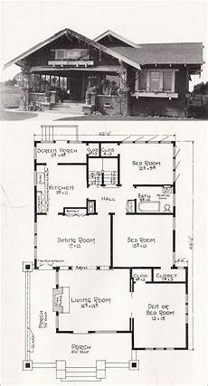 american bungalow house plans 1918 representative california homes by ew stillwell