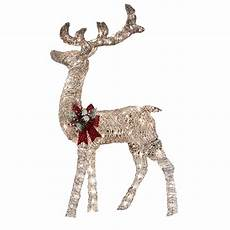 Outdoor Lighted Reindeer Decorations by Decorations Reindeer Outdoor 17 Agustus 2017