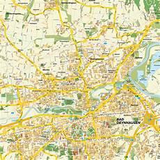 stadtplan bad oeynhausen stadtplan bad oeynhausen nrw deutschland karte und