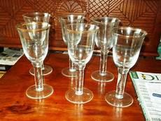 bicchieri antichi bicchieri antichi in oro cristallo vari pezzi posot class