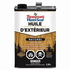 thompson s waterseal huile p 233 n 233 trante pour bois d