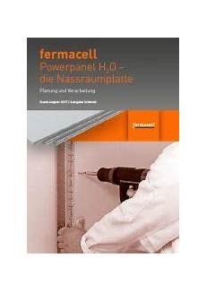 aktualisiert fermacell powerpanel h2o planung und
