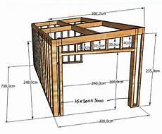 Fabriquer Garage En Bois Maison Fran 231 Ois Fabie