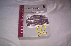 free online auto service manuals 1993 oldsmobile cutlass cruiser auto manual 92 oldsmobile cutlass supreme service manual check this out ebay