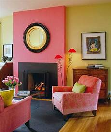 Helles Altrosa Wandfarbe - eye for design decorating with the pink yellow color
