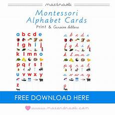 montessori cursive handwriting worksheets 22044 free montessori alphabet cards with print and cursive letters cursive cursive