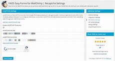 easy forms for mailchimp extension wordpress wordpress org