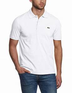 new lacoste sport s athletic cotton polo t shirt blanc