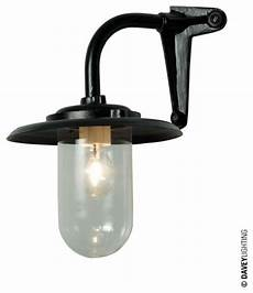 davey 7677 exterior bracket light 60w corner fork black industrial outdoor wall lights and