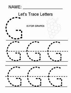 capital letter g tracing worksheets 24645 tracing the letter g by math simple for all tpt