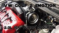 Vw Golf Mk2 Awd 16v Turbo 1150hp Test On Boba