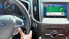 Sync 174 3 Plus Android Auto Ford How To