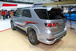 Toyota Fortuner TRD Edition Rear Three Quarters At The