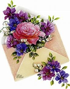 ste antiche fiori busta da cartolina romantica salottino