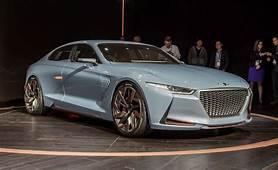 Genesis Hybrid Sports Sedan Concept Revealed  News Car