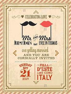 invitation card template vintage 21 vintage invitation templates free psd ai vector