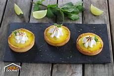 Typisch Dänische Mitbringsel - spritzige mojito tartelettes mit limettencreme