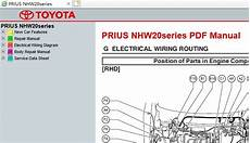 service repair manual free download 2004 toyota prius regenerative braking toyota prius nhw20 sil service repair manual ewd 2004 2009 service manual download