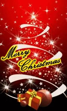 animated merry christmas and gifts nokia mobile wallpapers 240x400 hd wallpaper for phone free