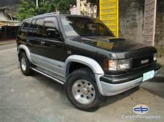 manual cars for sale 1999 isuzu trooper navigation system isuzu trooper automatic 1999 for sale carsinphilippines com 17012