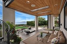 am 233 nagement terrasse avec auvent bois plexiglas aluminium