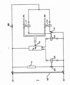 patent ep0355450a2 einrichtung zur steuerung des warm