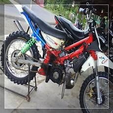 Modifikasi Motor Bebek Jadi Trail by 25 Foto Gambar Modifikasi Motor Bebek Jadi Trail Serta