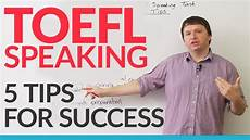 toeic note max toefl ibt independent speaking task 5 ways to succeed 183 engvid