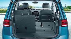 Vw Touran 2017 Abmessungen - volkswagen touran 2016 dimensions boot space and interior