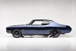 70 Chevelle BecauseSS Midnight Blue White And Black