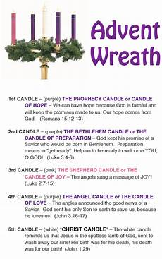 daily lighting of advent wreath st joan of arc catholic
