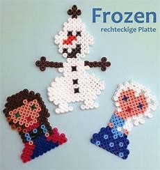 Gantungan Kunci Frozen Olav Set 2 deko aus hama b 252 gelperlen basteln disney prinzessinnen