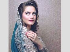 Throw Back to Bridal Shoot of Aiman Khan Looking Gorgeous