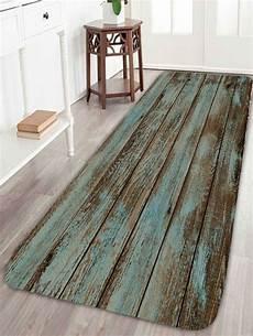 Bathroom Rugs Discount by Wood Grain Print Bathroom Rug Green W24 Inch L71 Inch