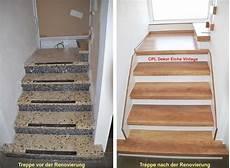 Treppengalerie Treppenrenovierung Schran Vor Und Nach