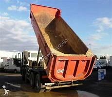 Camion Iveco Benne Enrochement Meiller Trakker Ad 410 T 38