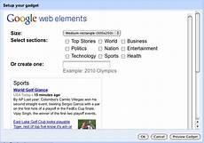 gadgets for google sites google sites api google